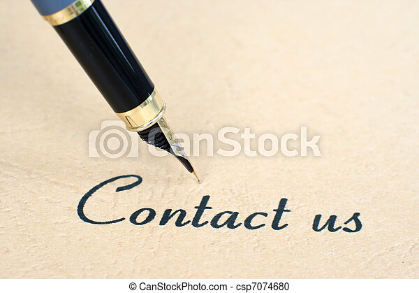 kontakt oss - csp7074680