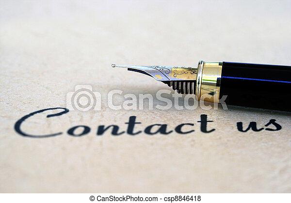kontakt oss - csp8846418