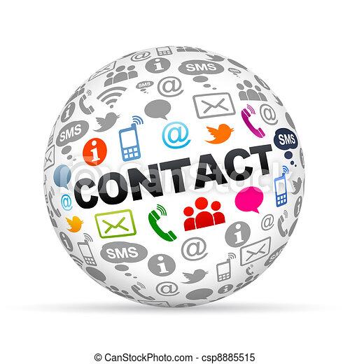 kontakt oss - csp8885515