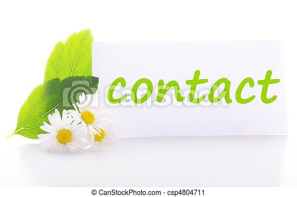 kontakta - csp4804711