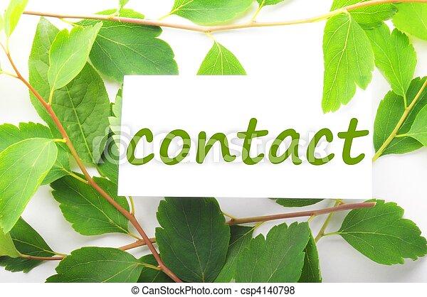 kontakta - csp4140798