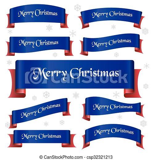 konzervativní, eps10, červeň, veselý, oblý, standarta, vánoce, lem - csp32321213