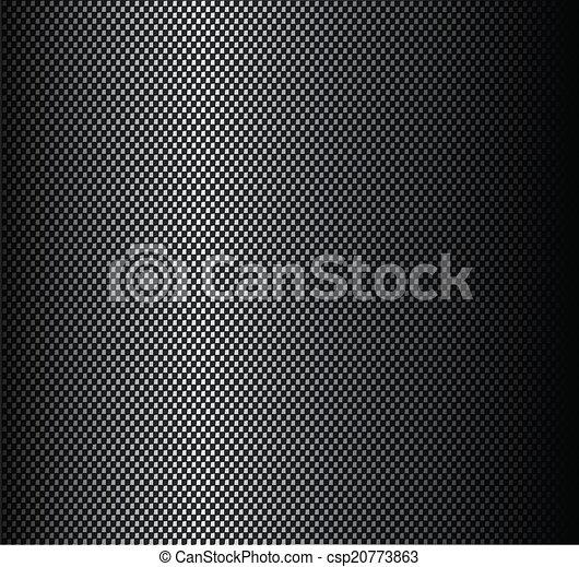 koolstof, sticker, vezel, textuur - csp20773863