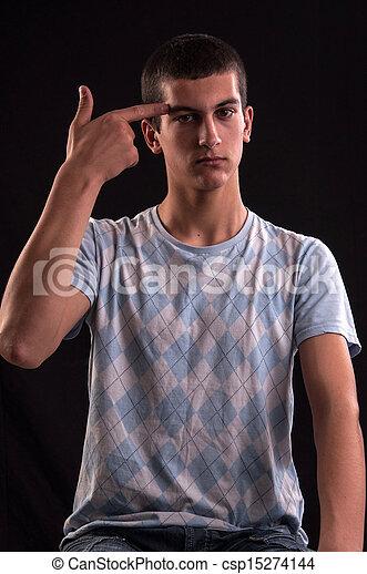 Teenager mögen es schwarz