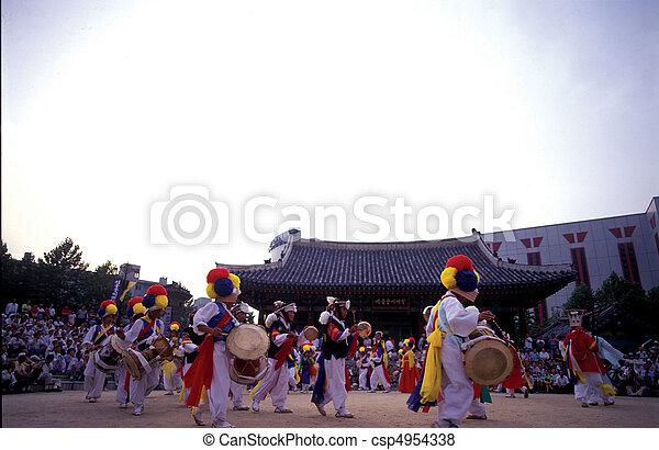 korea, aanzicht - csp4954338