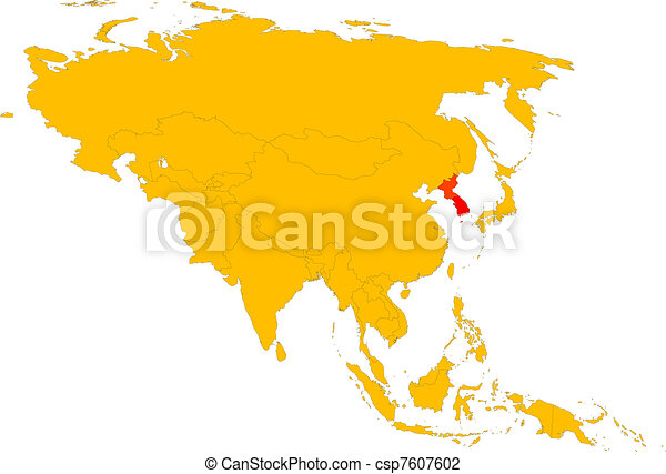 korea, -, asia - csp7607602