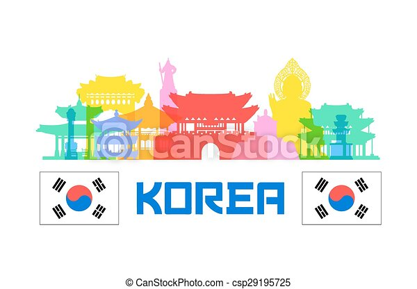 Korea Travel Landmarks - csp29195725