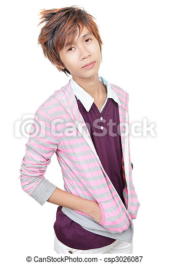 Korean young fashion model - csp3026087