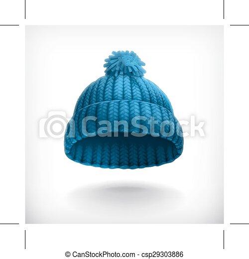 korona, błękitny, trykotowy - csp29303886