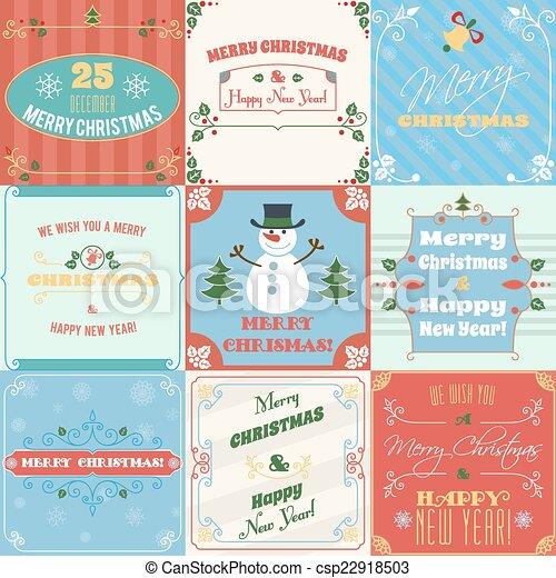 kort, sätta, jul - csp22918503