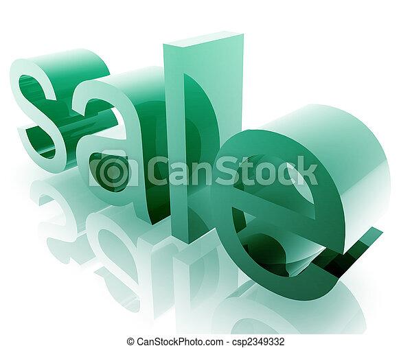 korting, shoppen , omzet - csp2349332