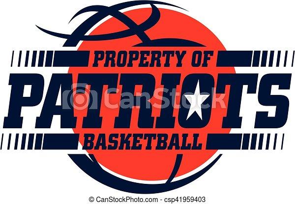 kosárlabda, patriots - csp41959403