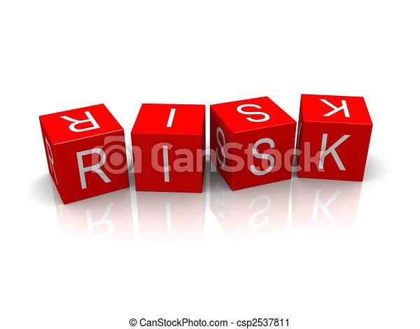 kostki, ryzyko - csp2537811