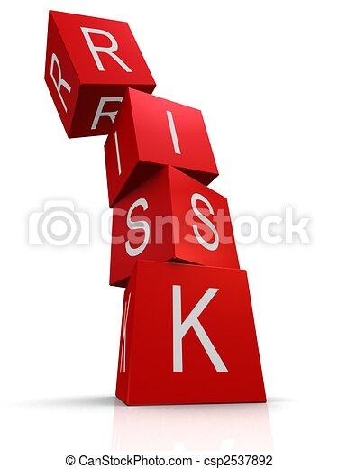 kostki, ryzyko - csp2537892