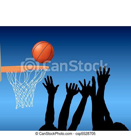 koszykówka - csp5528705