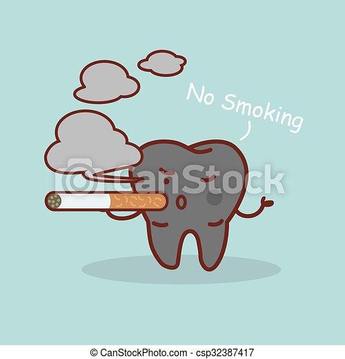 Kouření karikatury