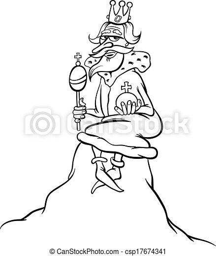 Král karikatur na kopci