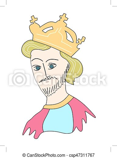 król, średniowieczny - csp47311767