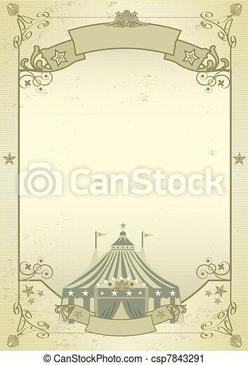 Kraft circus - csp7843291