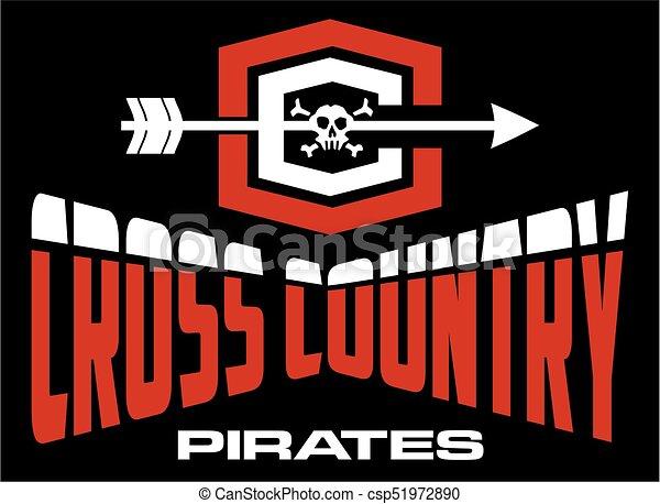 kraj, piraci, krzyż - csp51972890