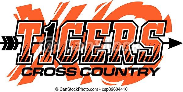 kraj, tygrysy, krzyż - csp39604410