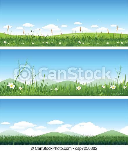 krajobraz, natura - csp7256382