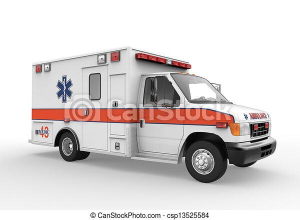 krankenwagen - csp13525584