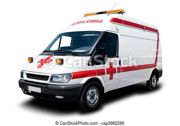 krankenwagen - csp3982266