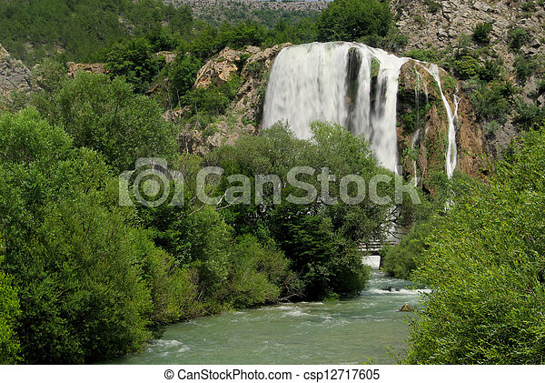 Krcic waterfall 03 - csp12717605
