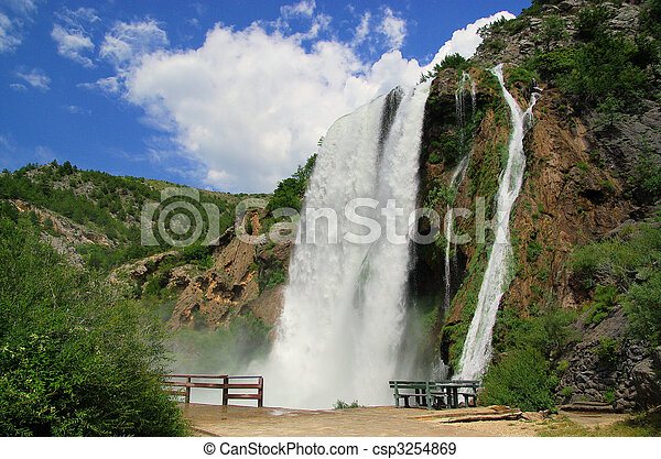 Krcic waterfall 04 - csp3254869