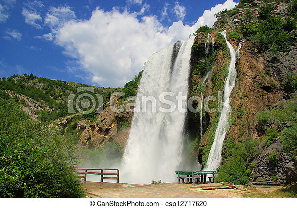 Krcic waterfall 05 - csp12717620