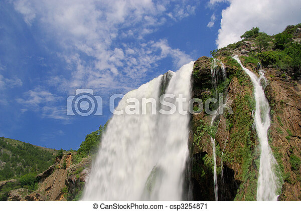 Krcic waterfall 10 - csp3254871