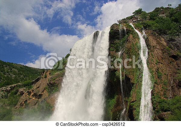 Krcic waterfall 13 - csp3426512