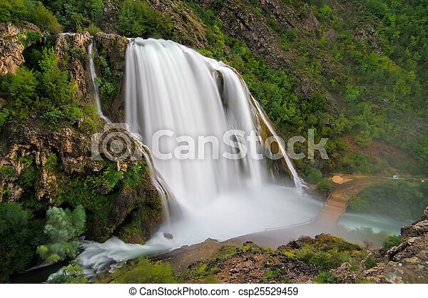 Krcic waterfall - csp25529459