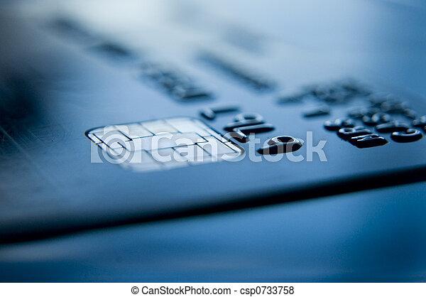 kreditkort, bankrörelse - csp0733758