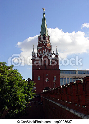 Kremlin in Moscow - csp0008637