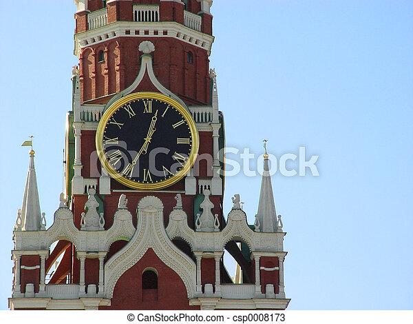 Kremlin in Moscow - csp0008173