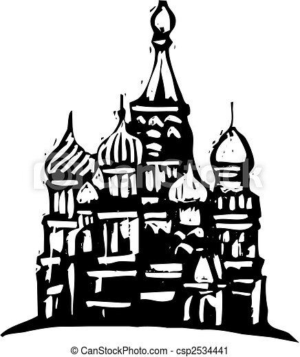 Kremlin rusia - csp2534441