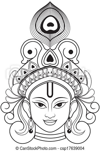 Krishna Indian Lord Krishna This Is Single Layer And Very Easy To Use
