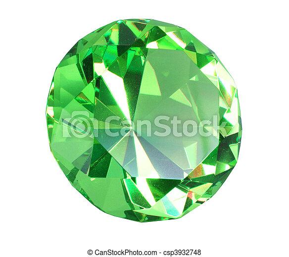 kristall diamant gr n singe photography diamond. Black Bedroom Furniture Sets. Home Design Ideas