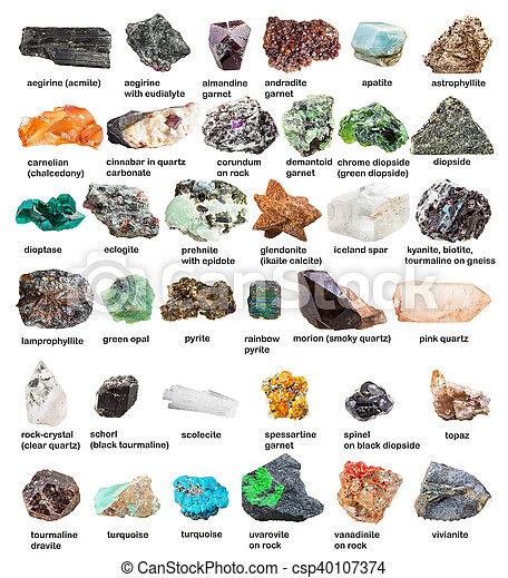 Kristalle Liste