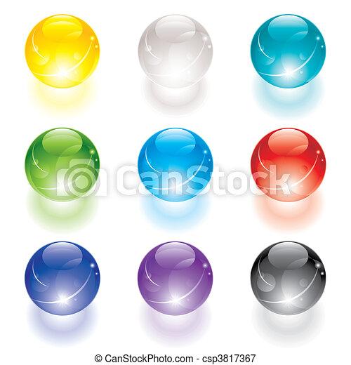 kristallkula - csp3817367