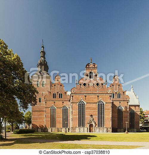 kristianstad, igreja holy trinity - csp37038810