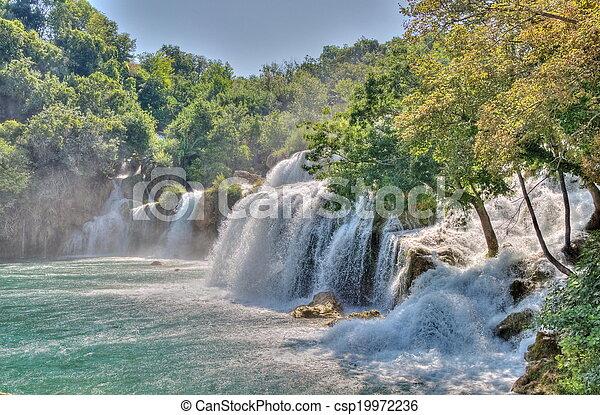 Krka National Park in Croatia - csp19972236