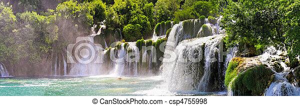 Krka waterfalls - csp4755998