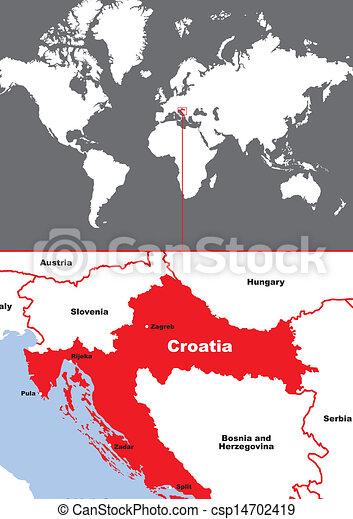 Kroatien - csp14702419