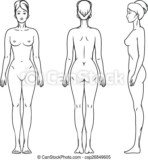krop, kvindelig - csp26849605