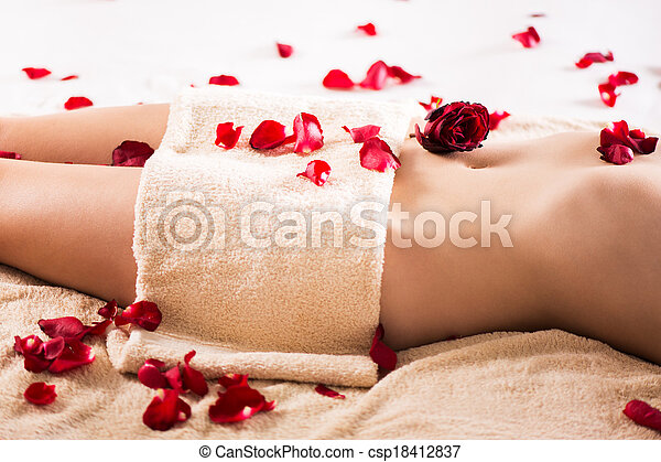 krop, slank, kvinde - csp18412837