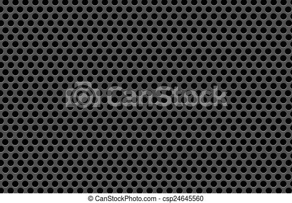 kropkuje, czarne tło - csp24645560