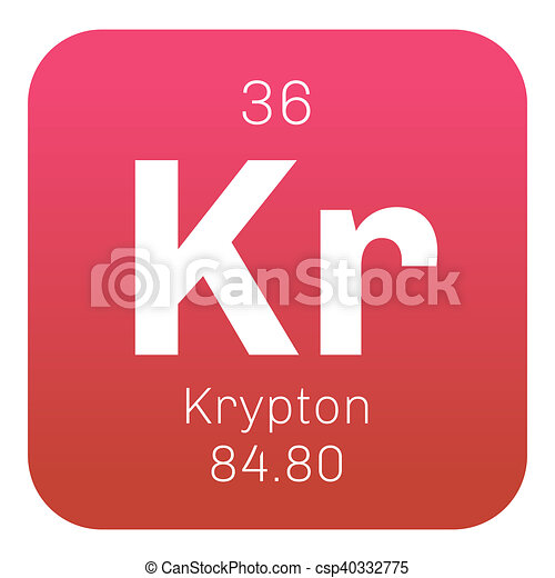 Krypton Chemical Element Krypton Is A Chemical Element Belongs To